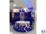 Under Water World Birthday Party by Party Planner bd