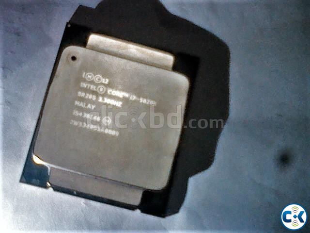 Intel Processor Desktop Core i7-5820K | ClickBD large image 1