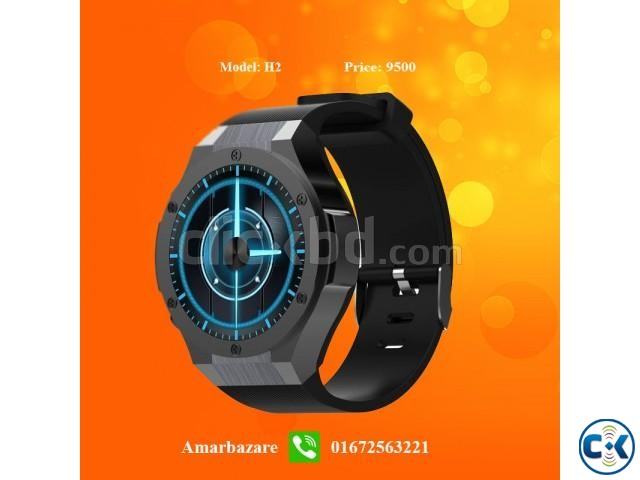 H2 Android 3G Wifi Smart Watch | ClickBD large image 0