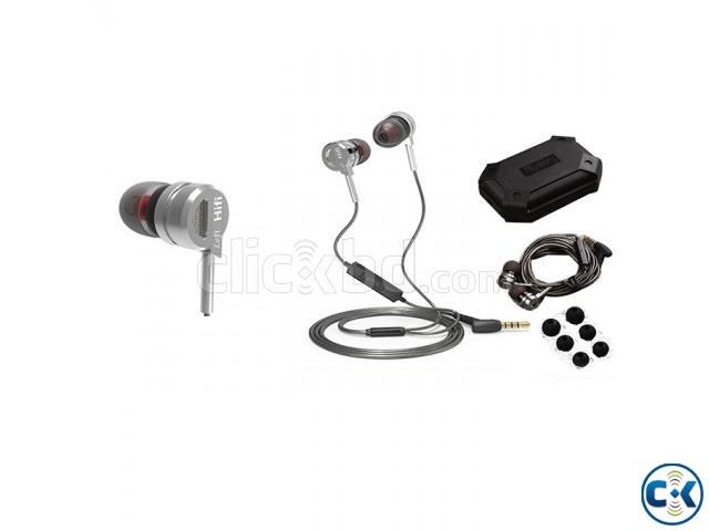 QKZ DM9 Zinc Alloy HiFi Metal Earphone With Mic | ClickBD large image 2