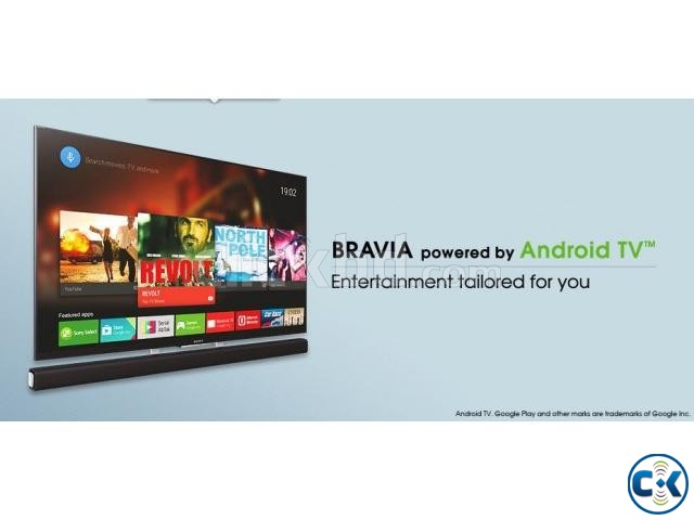 Sony Bravia X7000E 55 Flat 4K UHD Wi-Fi Smart Android TV | ClickBD large image 0