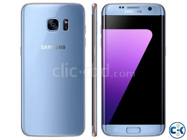 Samsung Galaxy S7 Edge Blue Coral 32 GB  | ClickBD large image 1