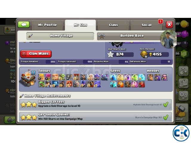 coc th 11 max 9k | ClickBD large image 0