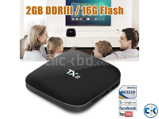 Tanix TX2 Android 6.1 2G 16G TV Box UK PLUG | ClickBD large image 3