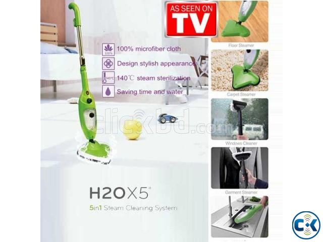 H2O Mop X5 5-in-1 Steamer as seen on tv | ClickBD large image 3