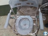 Toilet Chair Commode Chair Stainless Steel Body