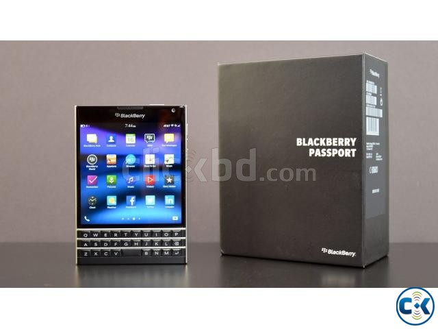 Brand New Blackberry Passport Sealed Pack With 3 Yr Warranty | ClickBD large image 1