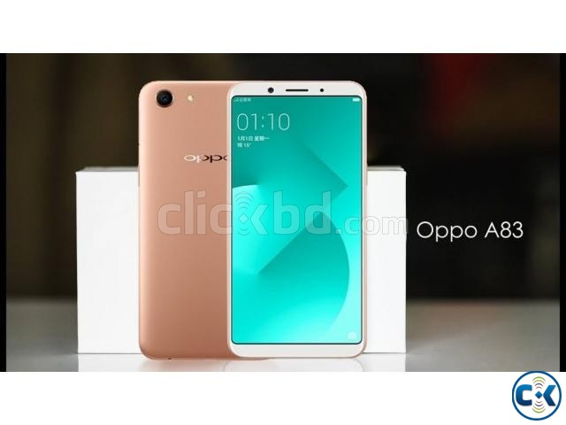 Oppo A83 32GB One Year Official Warranty | ClickBD large image 0