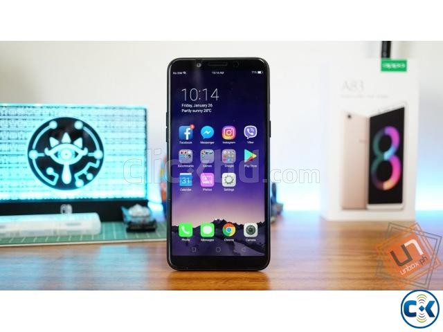 Oppo A83 32GB One Year Official Warranty | ClickBD large image 1