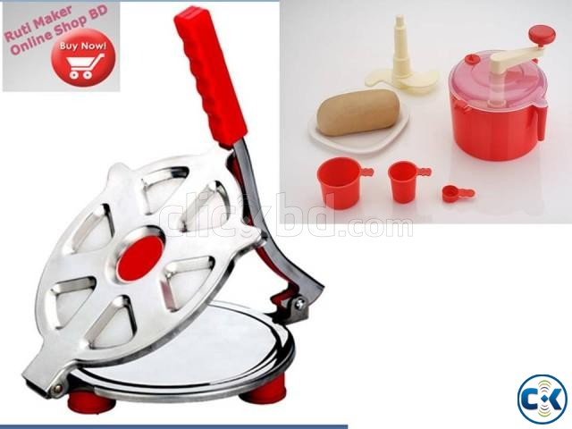 non electric ruti maker with Atta mixer maker | ClickBD large image 0