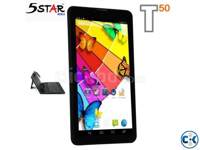 5Star Tablet Pc 1GB RAM 8GB Storage 5MP Camera intact Box | ClickBD large image 0