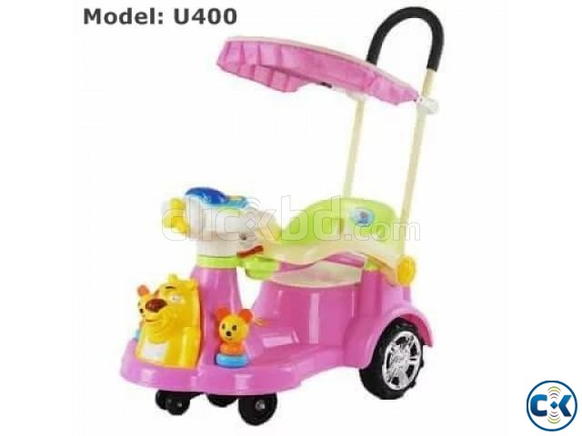 Brand New Baby Push Car with Umbrella U400 | ClickBD large image 0