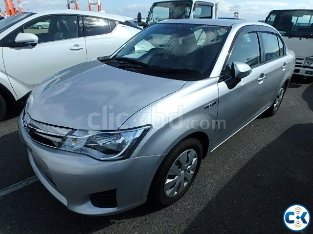 Toyota AXIO G 2013 HYBRID Color Silver | ClickBD large image 0