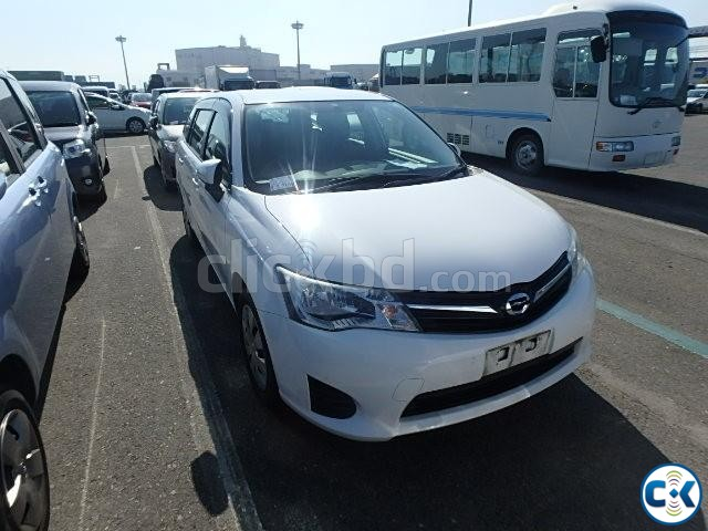Toyota AXIO 2012 New Shape Color White | ClickBD large image 0