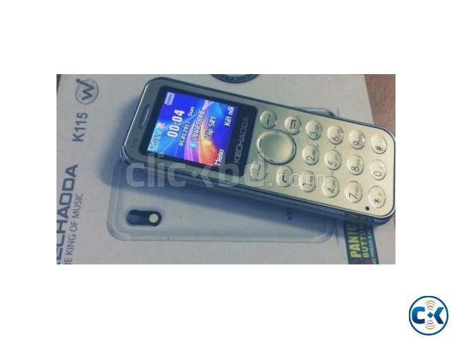 kechaoda k115 Dual sim slim phone intact Box | ClickBD large image 0