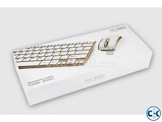 wireless mouse and keyboard set | ClickBD large image 2
