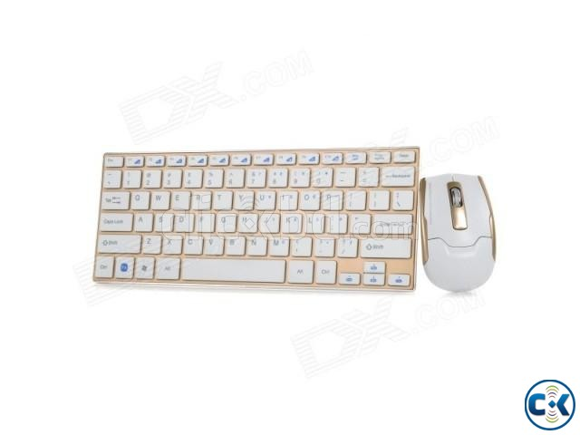 wireless mouse and keyboard set | ClickBD large image 3