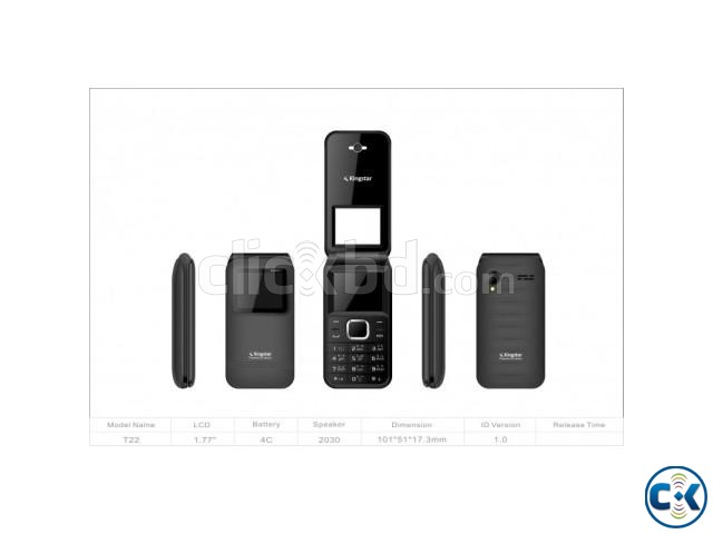 Kingstar Hero-7 Folding Mobile Phone intact | ClickBD large image 0