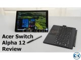 Acer switch Alpha 12 2-in-1 tablet ultrabook