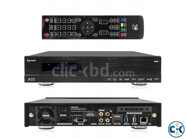 Egreat A11 Blu-ray HDD Media Player 4K HDR Dual HDMI 2G 16G | ClickBD large image 1