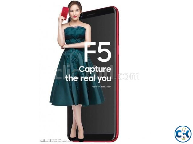 Oppo F5 64GB 1 Year Official Warranty | ClickBD large image 0