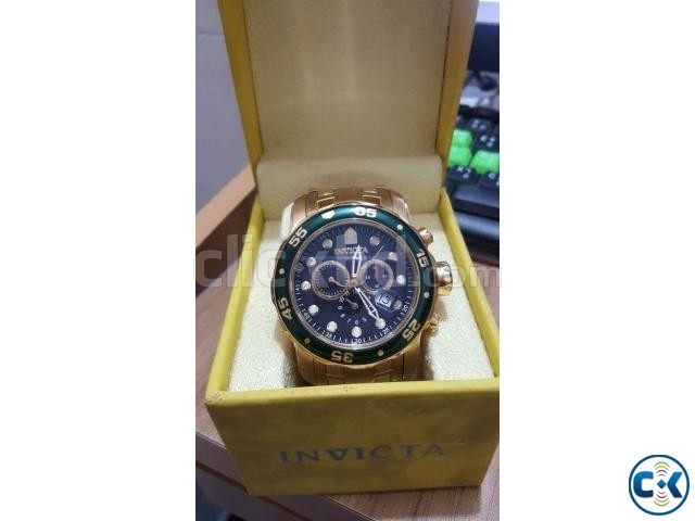 Invicta 18karat Gold Watch | ClickBD large image 0