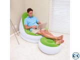 2 in 1 Air Chair and Footrest Sofa intact Box