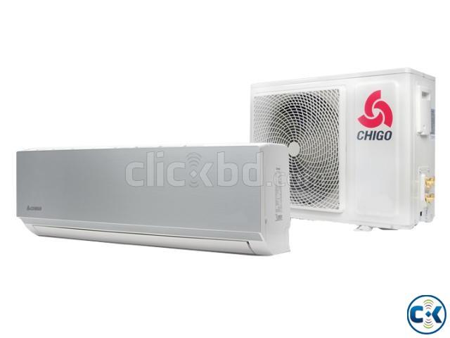 CHIGO 1 TON AIR CONDITIONER 12000 BTU SPLIT TYPE | ClickBD large image 0