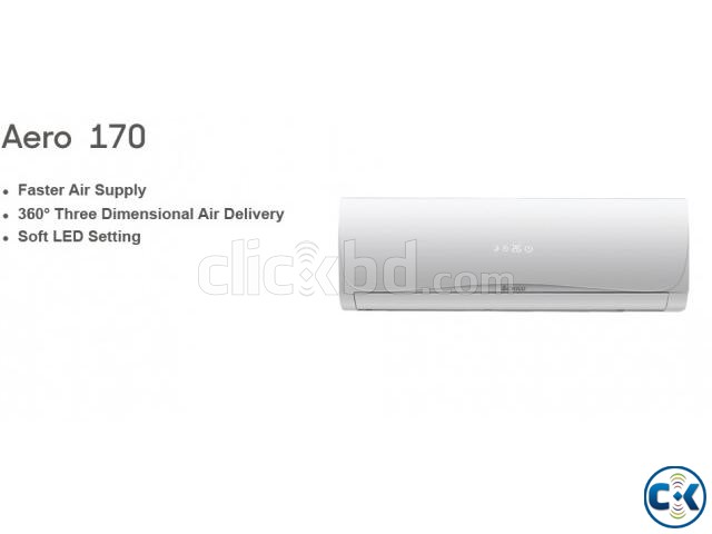 CHIGO 1.5 TON AIR CONDITIONER 18000 BTU SPLIT TYPE | ClickBD large image 1