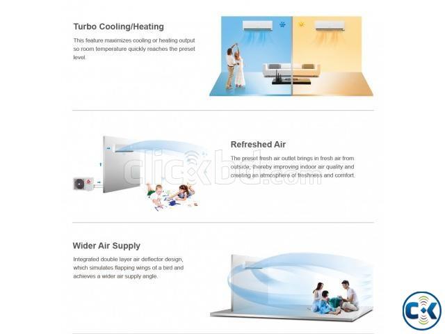 CHIGO 1.5 TON AIR CONDITIONER 18000 BTU SPLIT TYPE | ClickBD large image 2