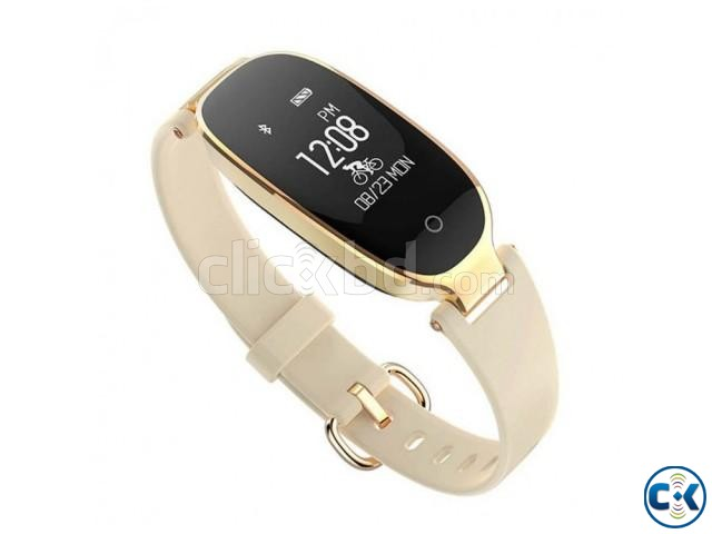 S3 Smart Band Bracelet For Girls Water-proof intact | ClickBD large image 0