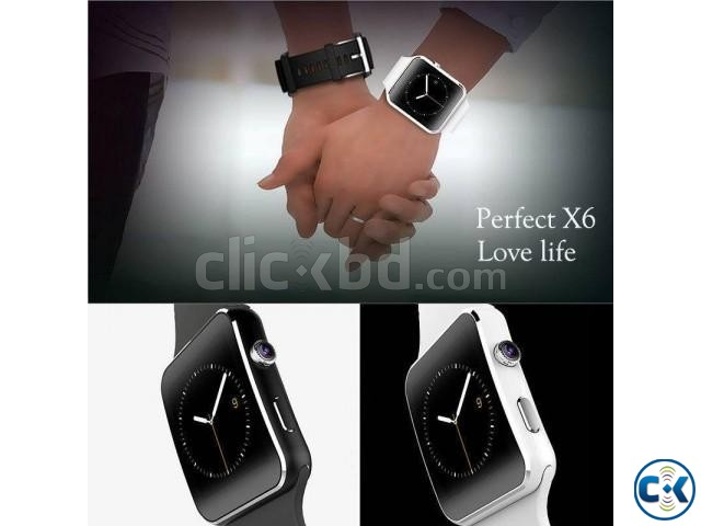 X6 smart Mobile watch Phone carve display intact Box | ClickBD large image 2