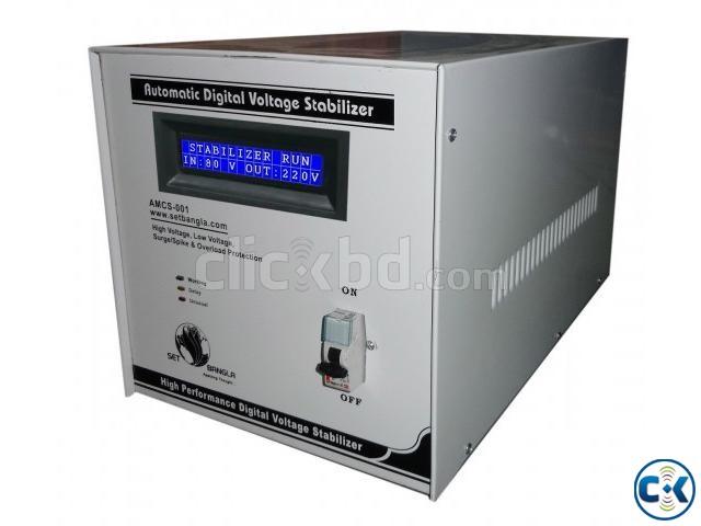 Digital Voltage Stabilizer 6KVA | ClickBD large image 0