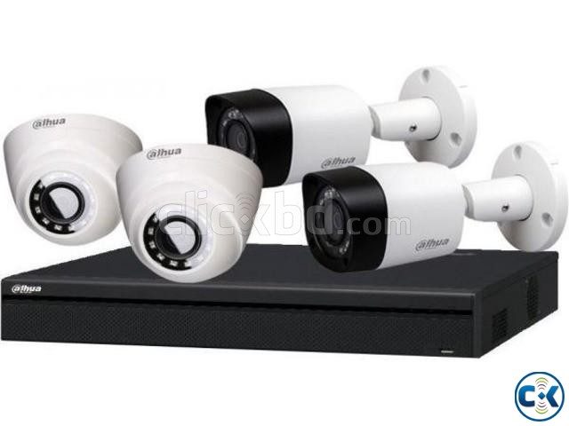 CCTV Package Dahua DH-HAC-HFW1200RP Recorder 4 Camera | ClickBD large image 2
