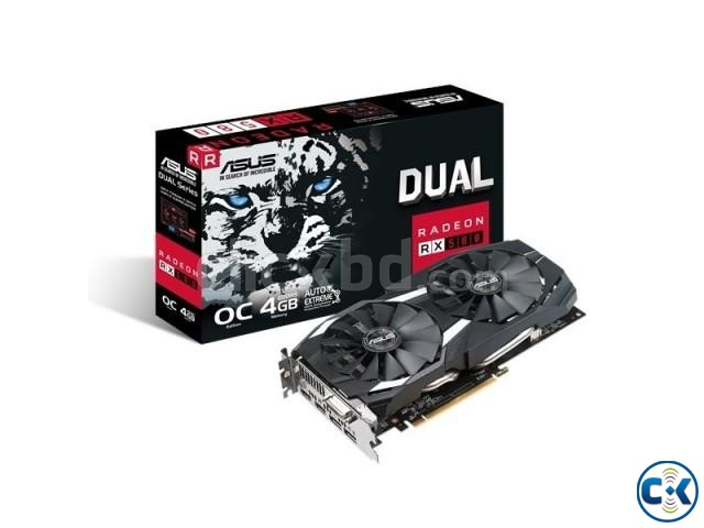 Asus DUAL-RX580-O4G 4GB GDDR5 Graphics Card | ClickBD large image 0