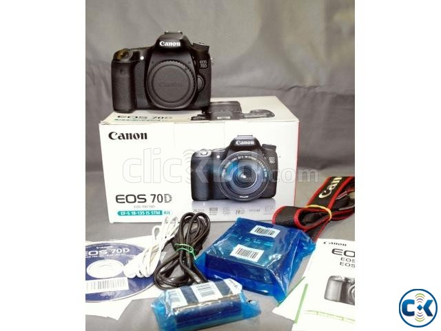 Canon EOS 70D DSLR Camera Body Only Made in Japan  | ClickBD large image 0