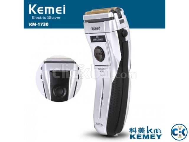 Kemei Rechargeable shaver KM-1730 | ClickBD large image 0