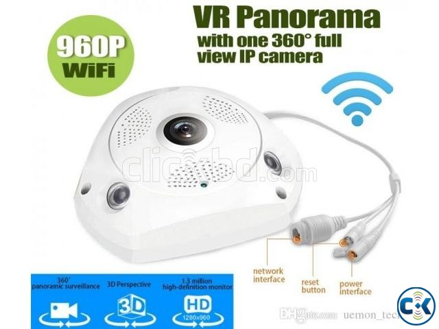 VR CCTV IP Wifi Camera 360  | ClickBD large image 1