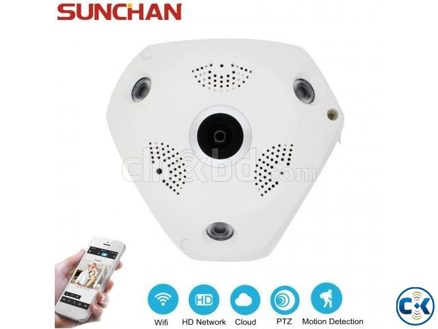 VR CCTV IP Wifi Camera 360  | ClickBD large image 4