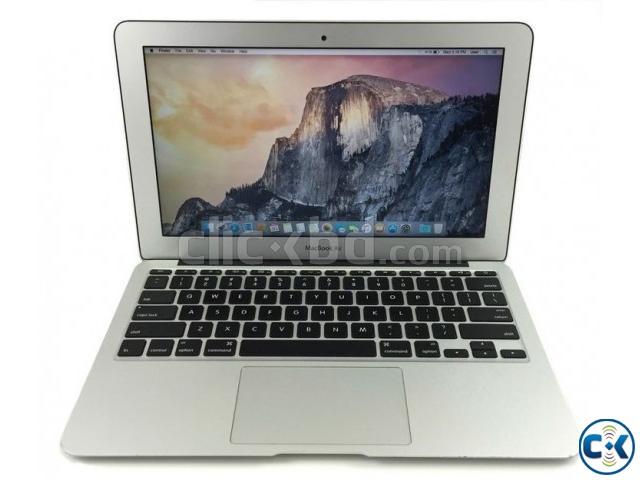 MacBook Air 11.6 Core i5 4 GB RAM SSD-opslag 128GB | ClickBD large image 0