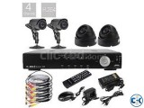 HIK VISION 700TV CCTV Camera 4 PCS.