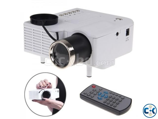 UC28 Portable HD Mini Projector | ClickBD large image 0