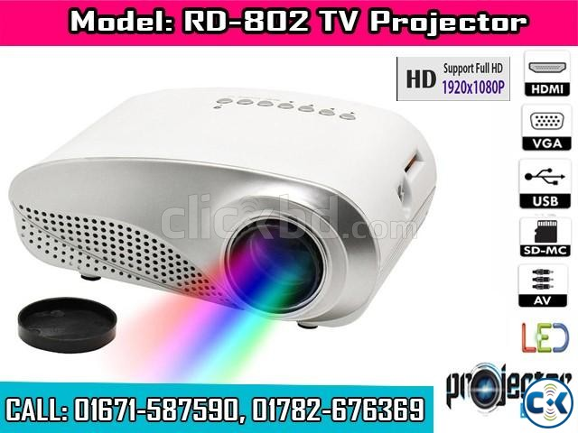 RD-802 HD TV Projector | ClickBD large image 0