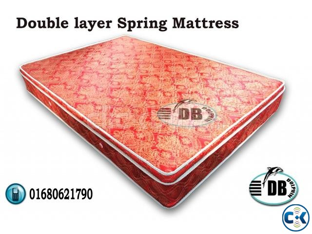 Dolphin Double layer Mattress | ClickBD large image 0