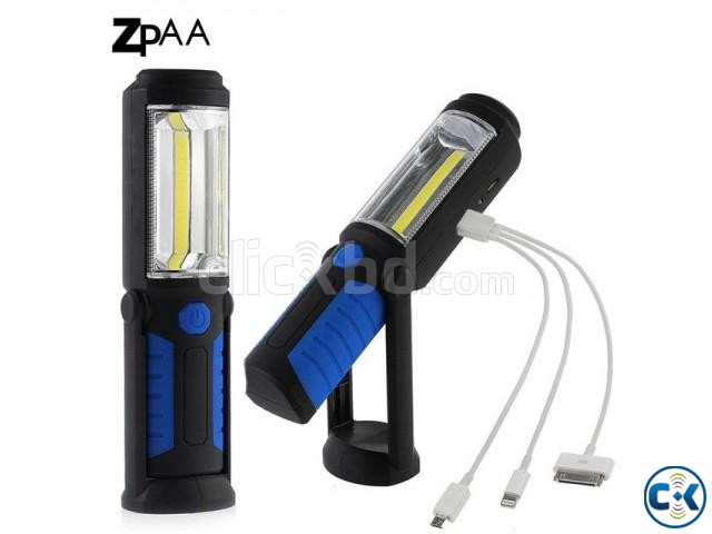 Rechargeable Work Torch | ClickBD large image 1
