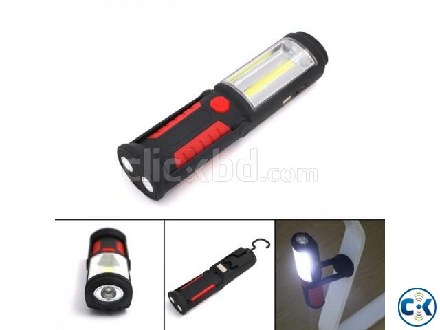 Rechargeable Work Torch | ClickBD large image 3