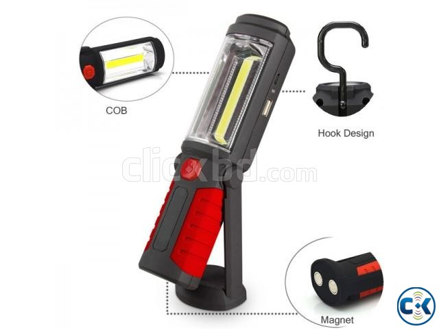 Rechargeable Work Torch | ClickBD large image 4
