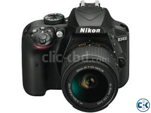 Nikon D3400 Burst Shooting 24MP FHD Digital SLR Camera | ClickBD large image 1