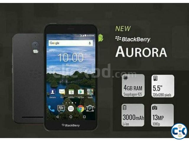 Brand New BlackBerry Aurora Sealed Pack With 3 Yr Warranty | ClickBD large image 0