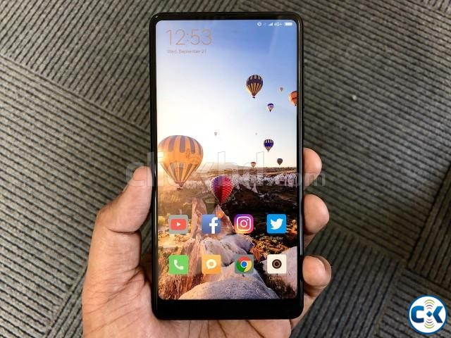 Brand New Xiaomi Mi Mix 2 128GB Sealed Pack 3 Yr Warrnty | ClickBD large image 2